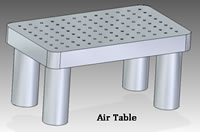 Air Table Vibration Dampening